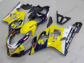 Suzuki GSX-R 600/750 2004-2005 K4 Injection ABS Fairing - Corona - Yellow/Blue