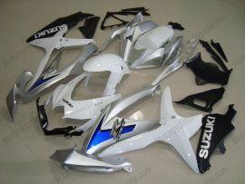 Suzuki GSX-R 600/750 2008-2010 K8 Injection ABS Fairing - Others - White/Black