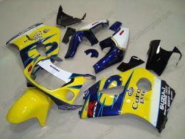 Suzuki GSX-R 600/750 1997-1999 ABS Fairing - Corona - Yellow/Blue
