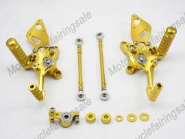 Motorcycle DUCATI 1198/1098/848 Rear Set Footrest Golden