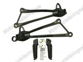 KAWASAKI ZX-6R ZX-10R 2008-2011 Rearfoot pedal Bracket - Black