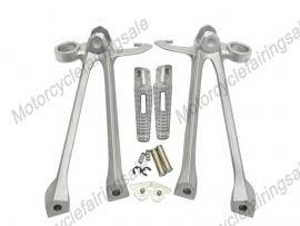 SUZUKI GSXR1000 2009-2010 Rearfoot pedal Bracket - Silver
