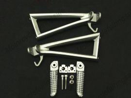 YAMAHA YZF600 2006-2010 Rearfoot pedal Bracket - Silver