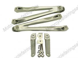 YAMAHA YZF1000 2004-2008 Rearfoot pedal Bracket - Silver