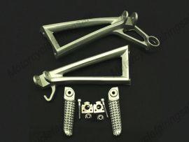 YAMAHA YZF600 2003-2005 Rearfoot pedal Bracket - Silver