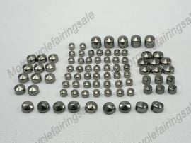 Harley New Twin Cam Road King&FLH Model Bolt Toppers Cap - 1999-2006 - Dark Gray