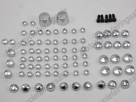 Harley Softail Twin Cam Bolt Toppers Cap - 2007&up - Chrome