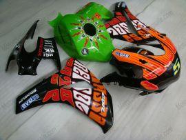 Honda CBR1000RR 2008-2011 Injection ABS Fairing - Rossi - Green/Black/Orange