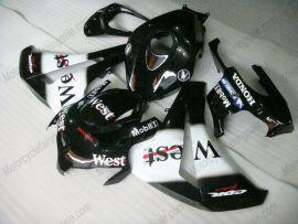 Honda CBR1000RR 2008-2011 Injection ABS Fairing - West - Black/White