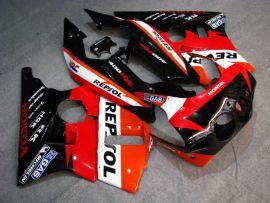 Honda CBR 400RR NC23 1988-1989 ABS Fairing - Repsol - Red/Black