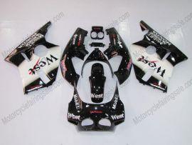 Honda CBR 400RR NC23 1988-1989 ABS Fairing - West - Black/White
