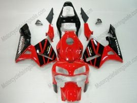 Honda CBR 600RR F5 2003-2004 Injection ABS Fairing - Others - Black/Red