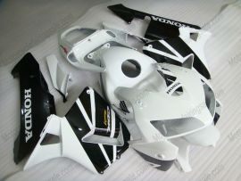 Honda CBR 600RR F5 2005-2006 Injection ABS Fairing - Others - White/Black