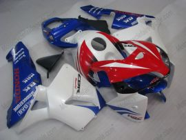 Honda CBR 600RR F5 2005-2006 Injection ABS Fairing - Others - White/Blue/Red