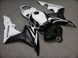Honda CBR 600RR F5 2007-2008 Injection ABS Fairing - Others  - Black/White