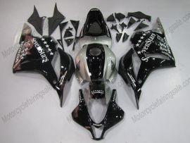 Honda CBR 600RR F5 2009-2012 Injection ABS Fairing - SevenStars - Black/Silver