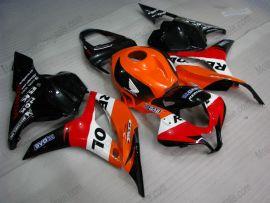 Honda CBR 600RR F5 2009-2012 Injection ABS Fairing - Repsol - Orange/Black