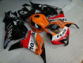 Honda CBR 600RR F5 2009-2012 Injection ABS Fairing - Repsol - Orange/Black/Red