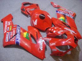 Honda CBR1000RR 2004-2005 Injection ABS Fairing - Lee - Red
