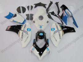 Honda CBR1000RR 2008-2011 Injection ABS Fairing - Konica Minolta - White/Black