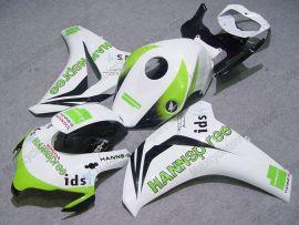 Honda CBR1000RR 2008-2010 Injection ABS Fairing - HANN Spree - White/Green
