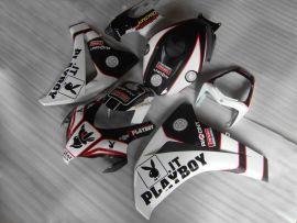 Honda CBR1000RR 2008-2011 Injection ABS Fairing - PlayBoy - White/Black