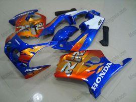 Honda CBR250RR MC19 1988-1989 Injection ABS Fairing - Fireblade - Blue/Orange