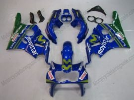 Honda CBR400RR NC29 1990-1998 ABS Fairing - Movistar - Blue