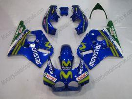 Honda CBR400RR NC23 1988-1989 ABS Fairing - Movistar - Blue