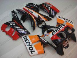 Honda CBR400RR NC29 1990-1998 ABS Fairing - Repsol - Orange/Black/Red