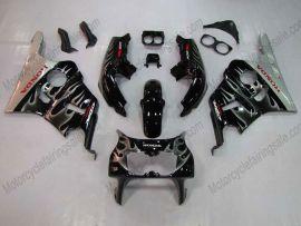 Honda CBR400RR NC29 1990-1998 ABS Fairing - Silver Flame - Black