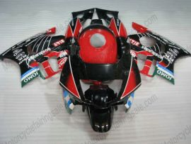 Honda CBR600 F2 1991-1994 ABS Fairing - JOMO - Black/Red/White