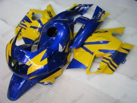Honda CBR600 F2 1991-1994 ABS Fairing - Others - Blue/Yellow