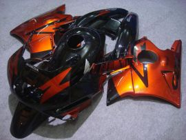 Honda CBR600 F2 1991-1994 ABS Fairing - Others - Orange/Black