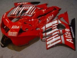 Honda CBR600 F3 1995-1996 Injection ABS Fairing - Alice - Red/White