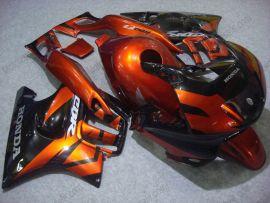 Honda CBR600 F3 1995-1996 Injection ABS Fairing - Others - Black/Orange