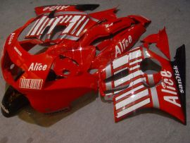 Honda CBR600 F3 1997-1998 Injection ABS Fairing - Alice - Red/White