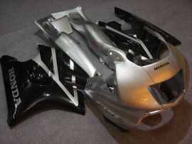 Honda CBR600 F3 1997-1998 Injection ABS Fairing - Others - Silver/Black