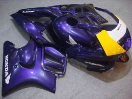 Honda CBR600 F3 1997-1998 Injection ABS Fairing - Others - Yellow/Blue