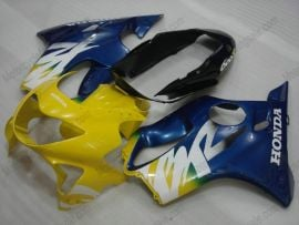 Honda CBR600 F4 1999-2000 Injection ABS Fairing - Others - Yellow/Blue