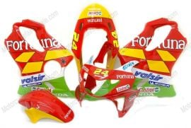Honda CBR600 F4 1999-2000 Injection ABS Fairing - Fortuna - Red/Yellow