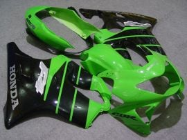 Honda CBR600 F4 1999-2000 Injection ABS Fairing - Others - Green/Black