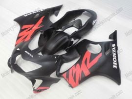 Honda CBR600 F4 1999-2000 Injection ABS Fairing - Others - Black/Red(matte)