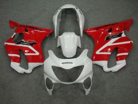 Honda CBR600 F4 1999-2000 Injection ABS Fairing - Others - White/Red