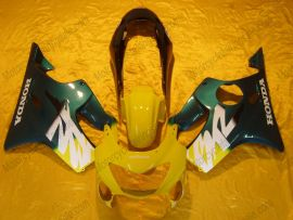 Honda CBR600 F4 1999-2000 Injection ABS Fairing - Others - Yellow/Green