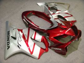 Honda CBR600 F4i 2004-2007 Injection ABS Fairing - Others - Silver/Red