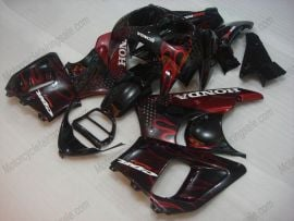 Honda CBR900RR 893 1992-1993 ABS Fairing - Flame - Red Flame(Black)