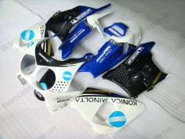 Honda CBR900RR 893 1992-1993 ABS Fairing - Konica Minolta - Black/White/Blue