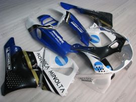 Honda CBR900RR 893 1996-1997 ABS Fairing - Konica Minolta - White/Blue/Black