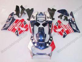 Honda CBR900RR 919 1998-1999 ABS Fairing - Castrol - Blue/Red